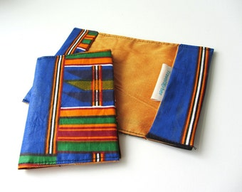Passport cover, african travel gift