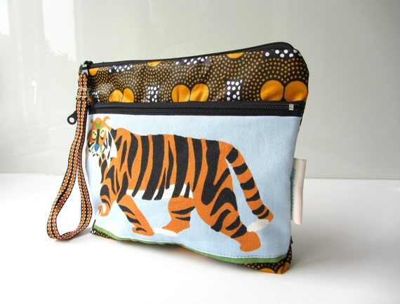 Kids travel pouch Indian tiger visiting Ghana