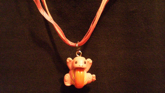 Pokemon Lickitung Charm Necklace