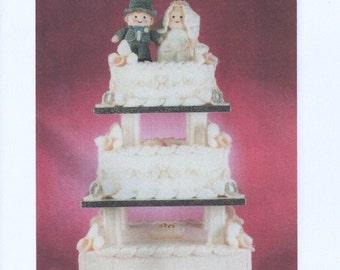3 Tier Wedding Cake Knitting Pattern