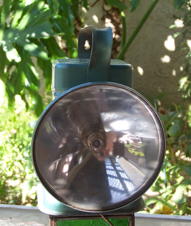 Railroad And Mining Delta Poweray 6 Volt Lantern