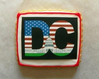 Washington DC Capital Building Cookies