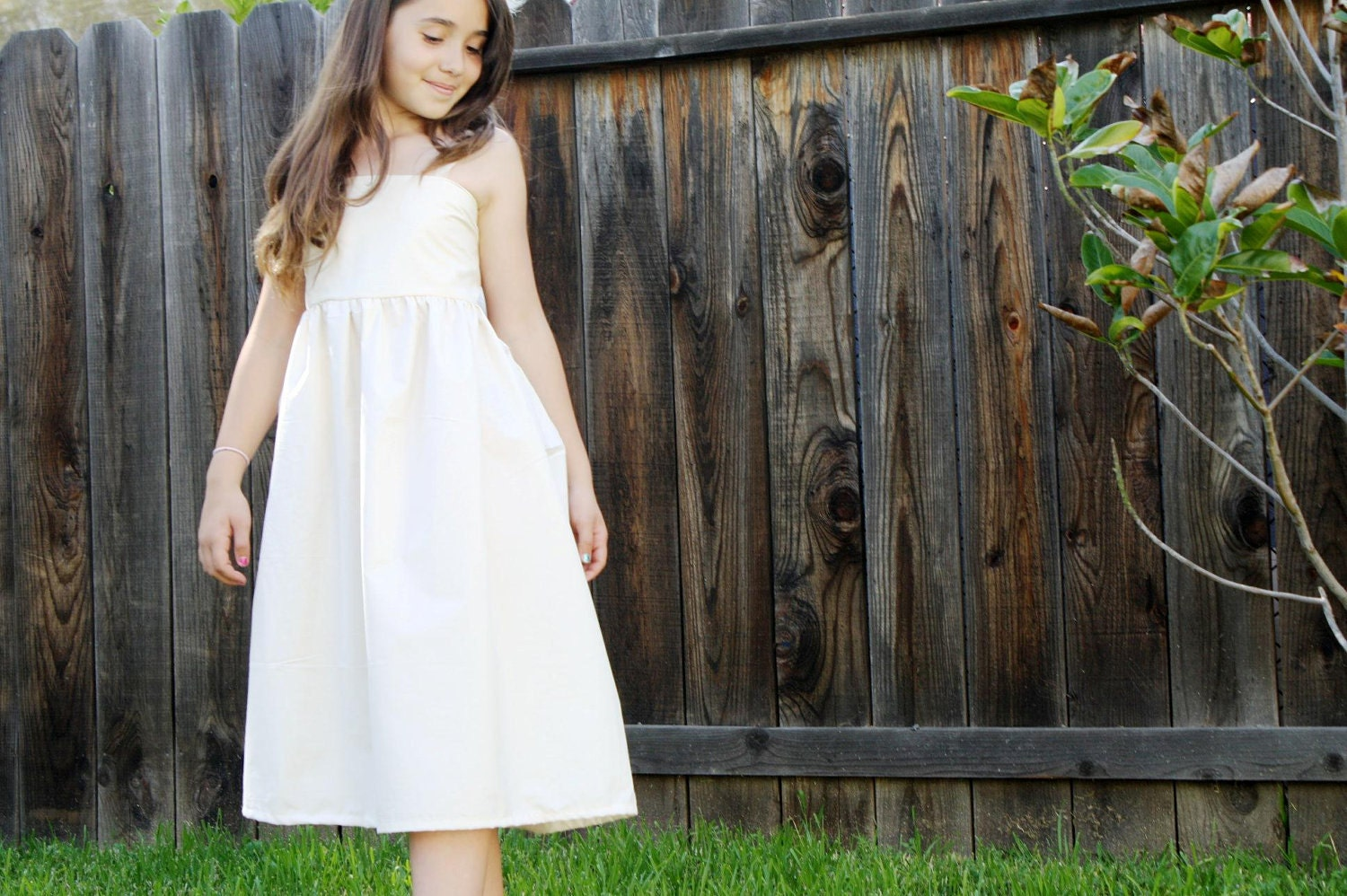 Country Love Flower Girl Dress