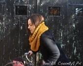 Cowl Infinity Scarf Knitting Pattern - Easy Beginner