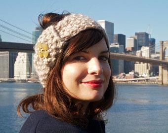 Easy Beginner Knitting Pattern - Headwarmer Headband - Digital Download