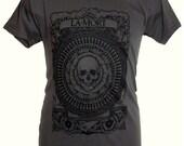 Beautiful Gothic Memento Mori T shirt - La Mort Narcosis 3