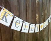Bride and Groom Wedding Banner | Name Sign | Wedding Decoration | Bridal Shower Banner | Bridal Shower Decoration | Bride and Groom Sign