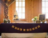 LOVE is SWEET Wedding Sign / Love is Sweet Wedding Banner and Decor | Cake Table Sign | Cake Table Decor
