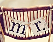 Mr. and Mr. Banners | Mr. Wedding Signs | Same Sex Marriage | Gay Wedding Decor | Two Grooms