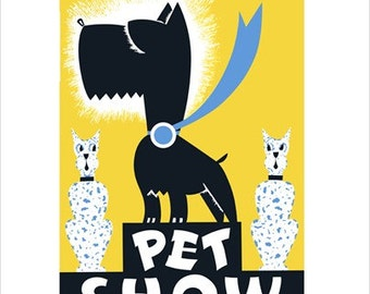 Pet Show - WPA Poster Print - 8x10 -