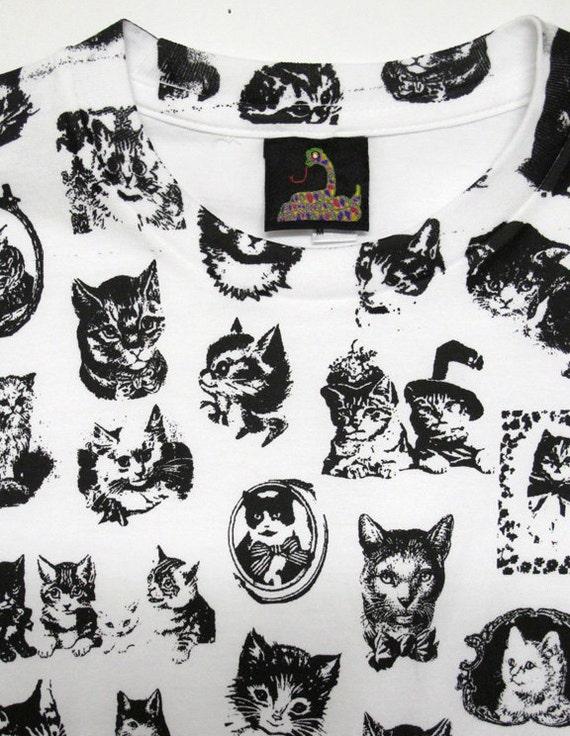 Cute Cat T Shirt