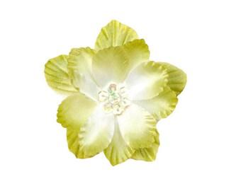 Moss Silk Flower Applique for Baby Headbands  - Amanda Collection