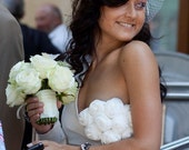 LAURA  ivory wedding dress (CUSTOM)