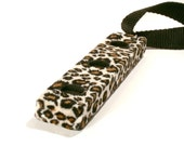 Young Cellist Endpin Rest Cello Spike Rest - Leopard Print - Little Ones Pinstoppa - 3 to 7 years - READY TO SHIP