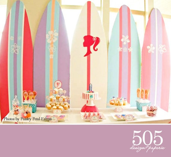Barbie mermaid party supplies bing images for Decoration barbie