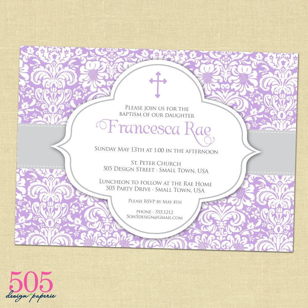 Baptism Invitation Templates was great invitations ideas