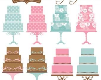 Fancy Cakes Clip Art