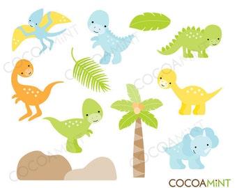 Dinosaurs Rock Clip Art