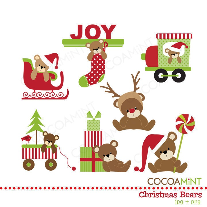 christmas clipart etsy - photo #14