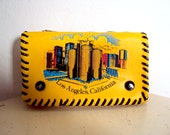 Vintage Souvenir Los Angeles California Wallet