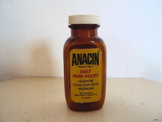 Anacin Ingredients