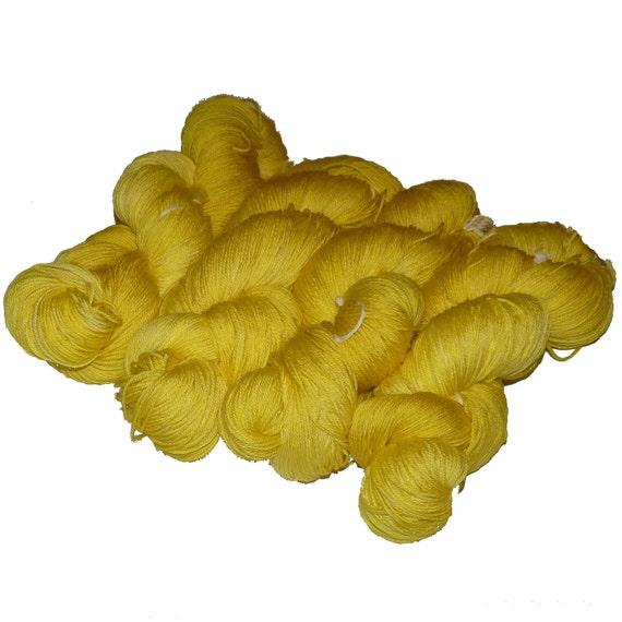Superwash Merino & Silk  Sock Yarn Tarte au Citron