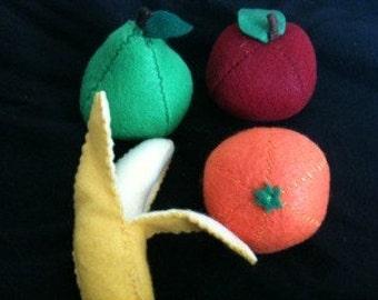 Felt Fruit Set
