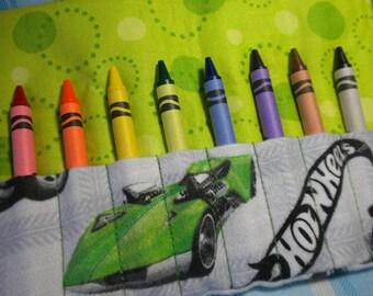 HOT WHEELS - Travel Crayon Wallet Roll