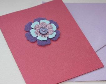 Flower Notecards - Set of 8