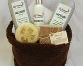 Bath and Body Towel Gift Basket