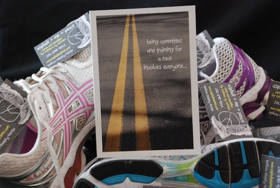 Card For Runners, Thanks For Supporting Me, PR037