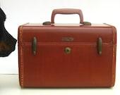 1950s Vintage Mid Century Samsonite Train Case