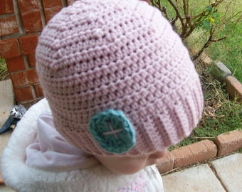 Crochet pattern - pdf file - Baby and toddler hat - Sweet Little Hat