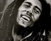 Bob Marley Pencil Drawing Print
