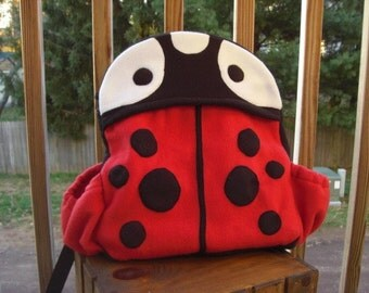 Ladybug Child's Backpack