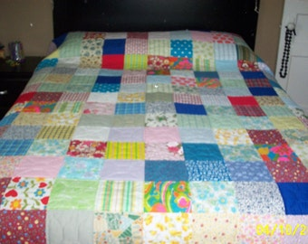 Handquilted Patchwork Quilt