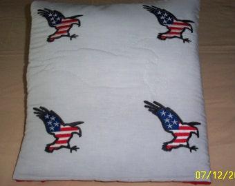 Patriotic Magic Pillow Quilt