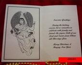 Artist original holiday cards set of 20