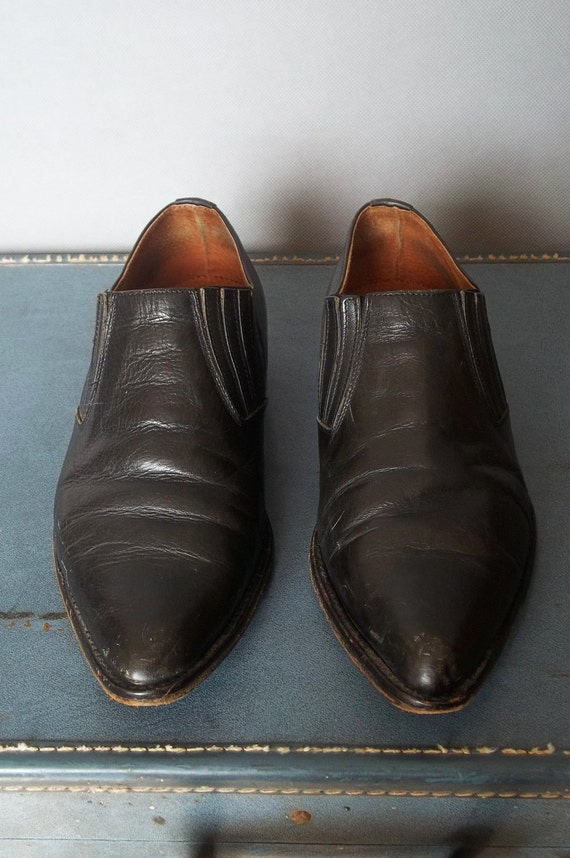 MENS Vintage SOUTHWEST Booties. Made in Italy Men size 10 (44 Euro)