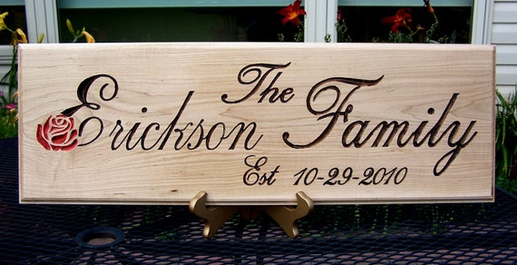 7 x 18 Personalized Name Sign, personalized just for you