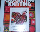 Vintage 1977 Crocheting and Knitting book Better Homes and Gardens
