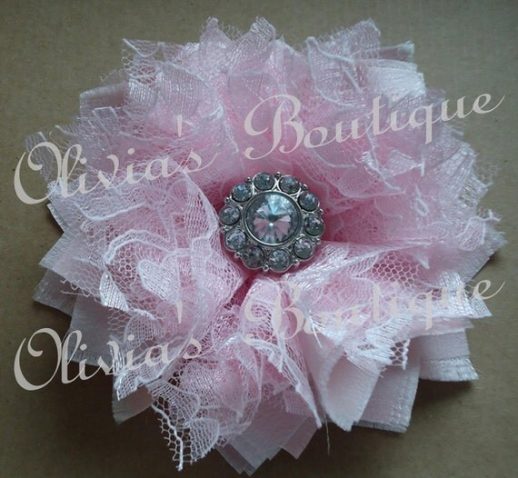Olivia's Boutique Shabby Flower Tutorial
