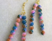 colourful dangle earrings FREE COMBINED SHIPPING