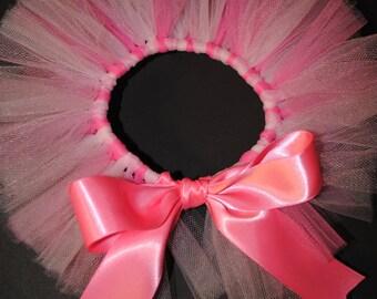 Pretty In Pink Newborn Tutu - Ready To Ship -