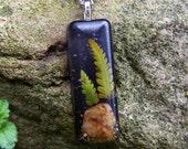 Midnight Fern Necklace
