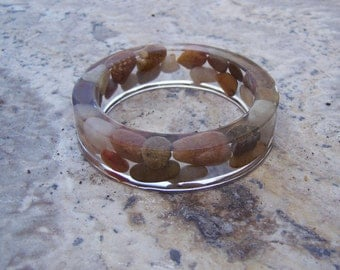 SALE was 22.00 River Stones Bracelet