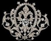 Luxury Vintage Style Bridal Brooch