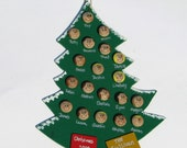 Large Personalized Family Christmas Tree Ornament Up to 28 faces