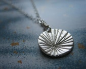 Mini Burst Supernova Sterling Silver Necklace