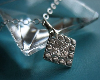 Twinkle Sterling Silver Necklace